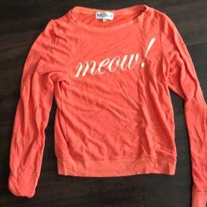 WILDFOX Meow! Sweater